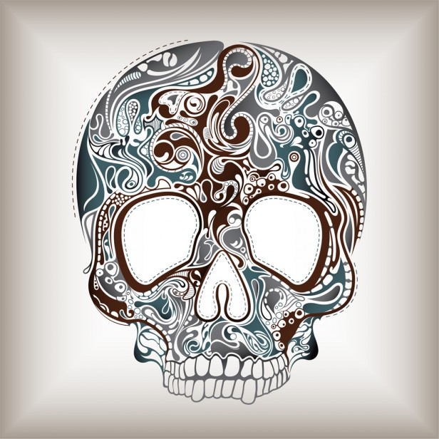 Sugar Skull   iPad Wallpaper 616x616