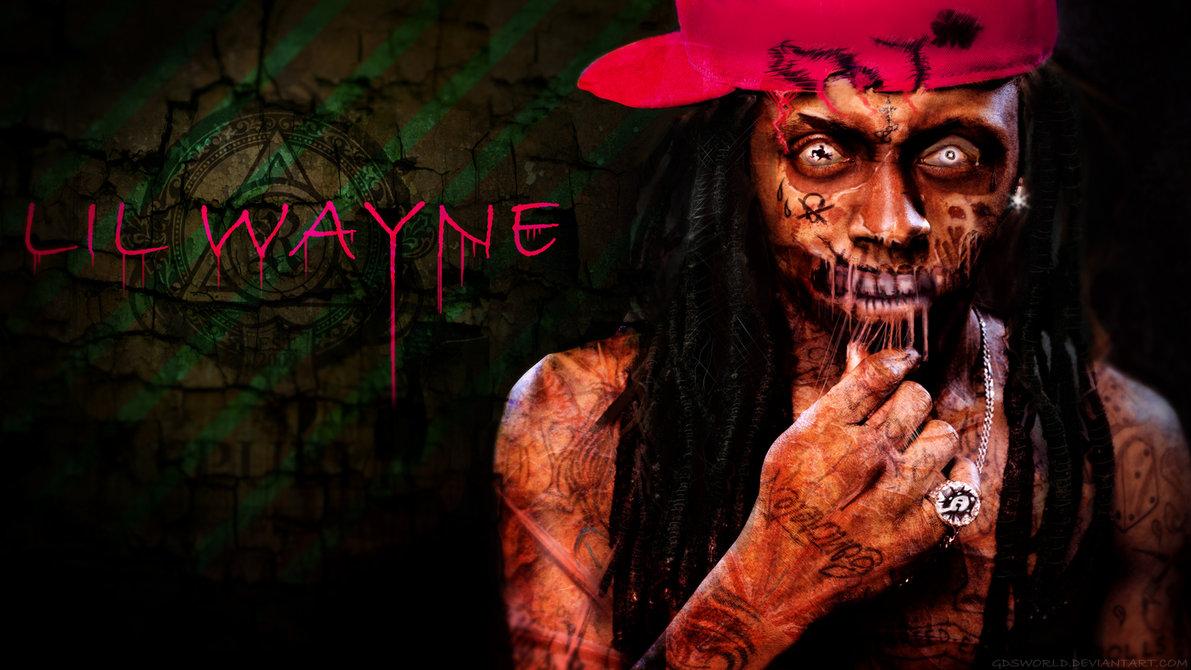 Zombie Lil Wayne HD Wallpaper by GDSWorld 1191x670