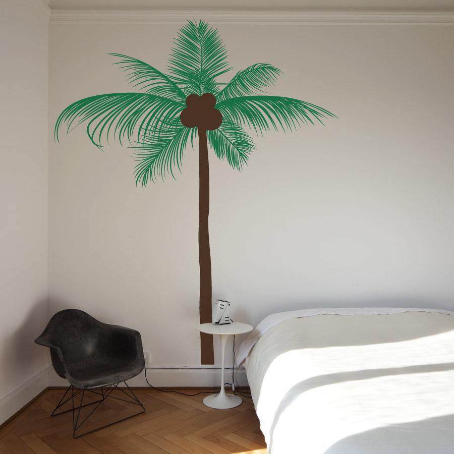 palm tree wall decal 2015   Grasscloth Wallpaper 900x900