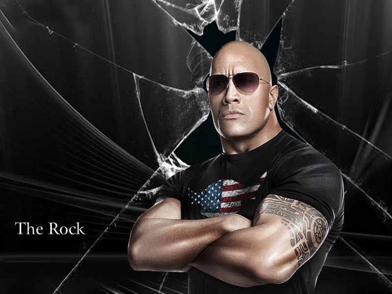 Sports Players Wwe The Rock HD Wallpapers 2012 800x600