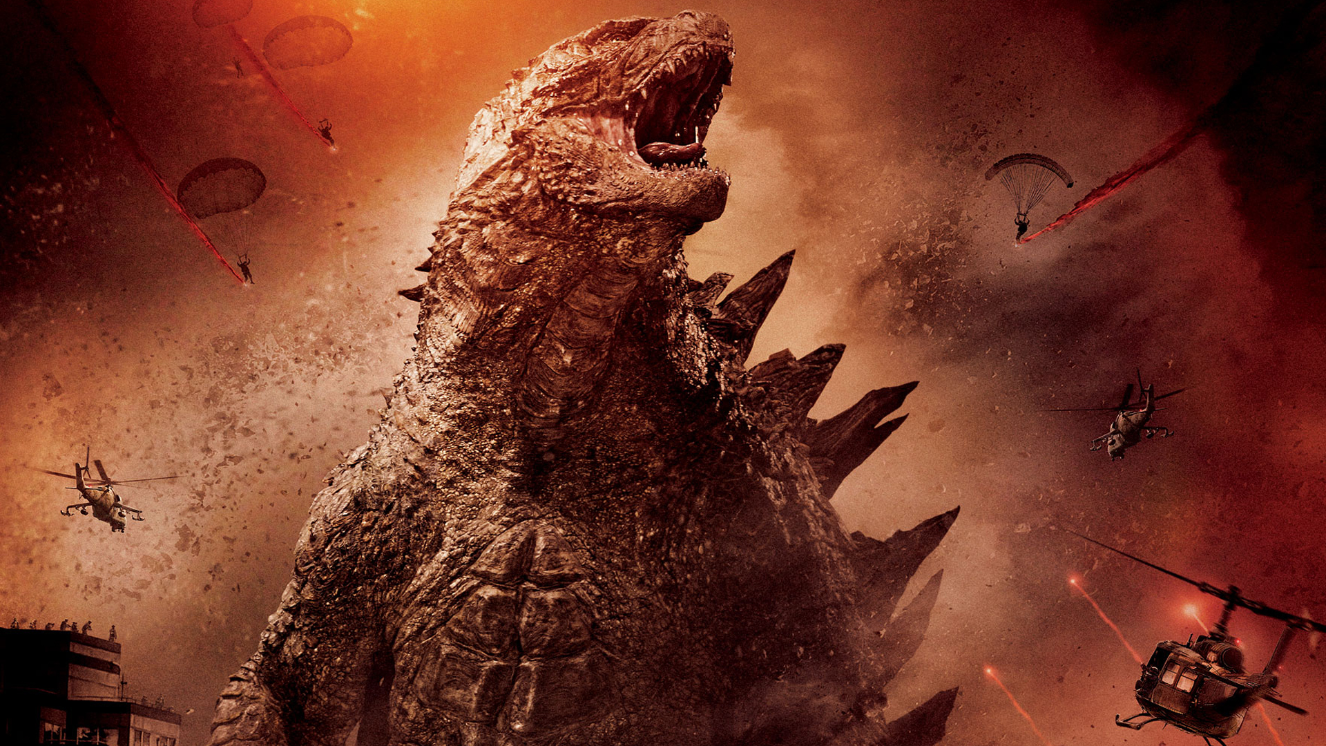 Godzilla 2014 Wallpaper 1920x1080 by sachso74 1920x1080
