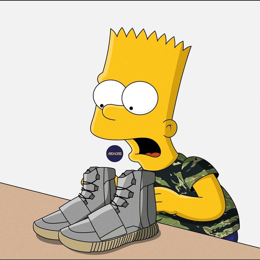 Bart Simpson Hypebeast 334869   HD Wallpaper Download 1080x1080
