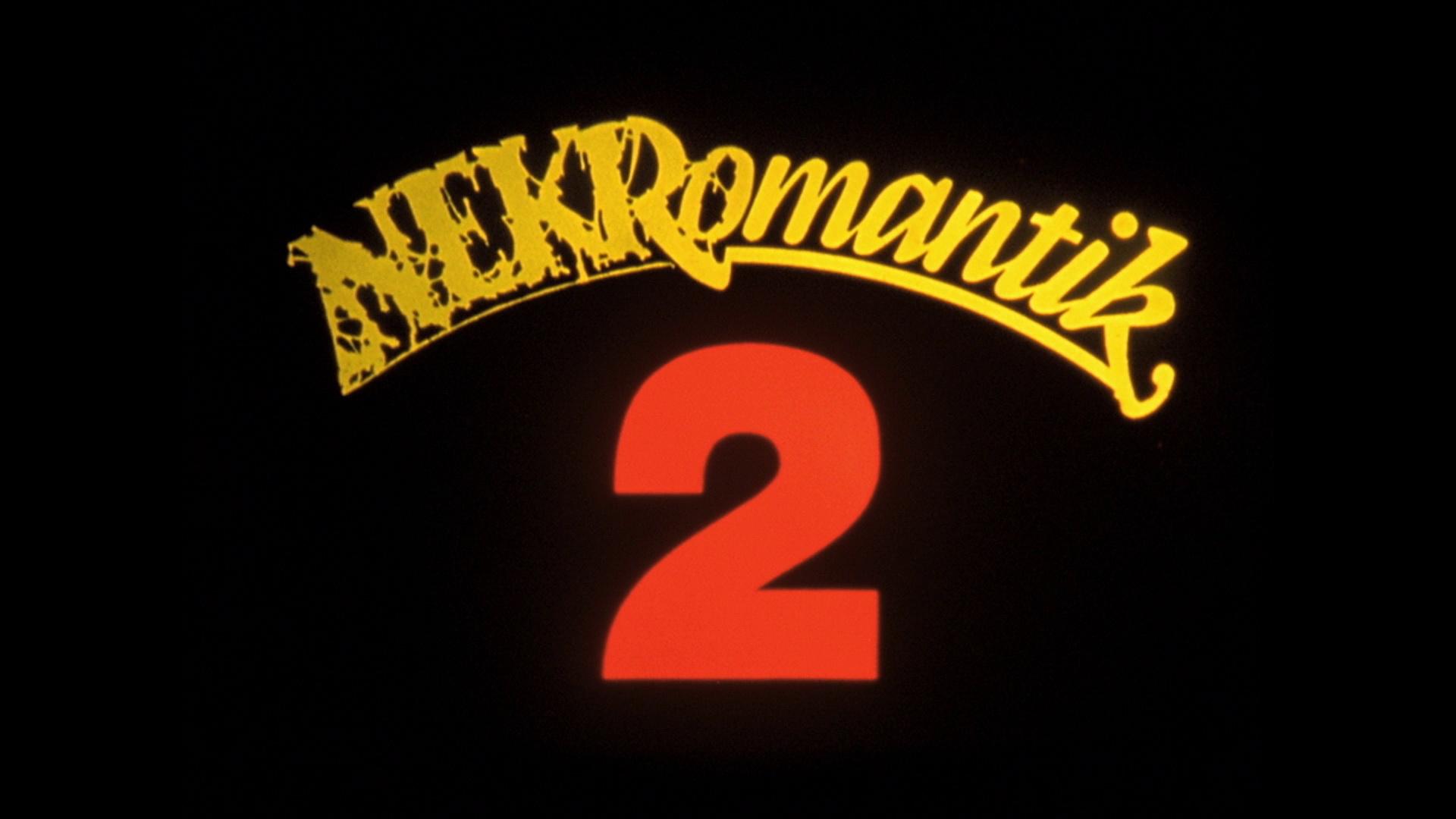 Nekromantik 2 Arrow Video Limited Edition BluRay DVD CD 1920x1080