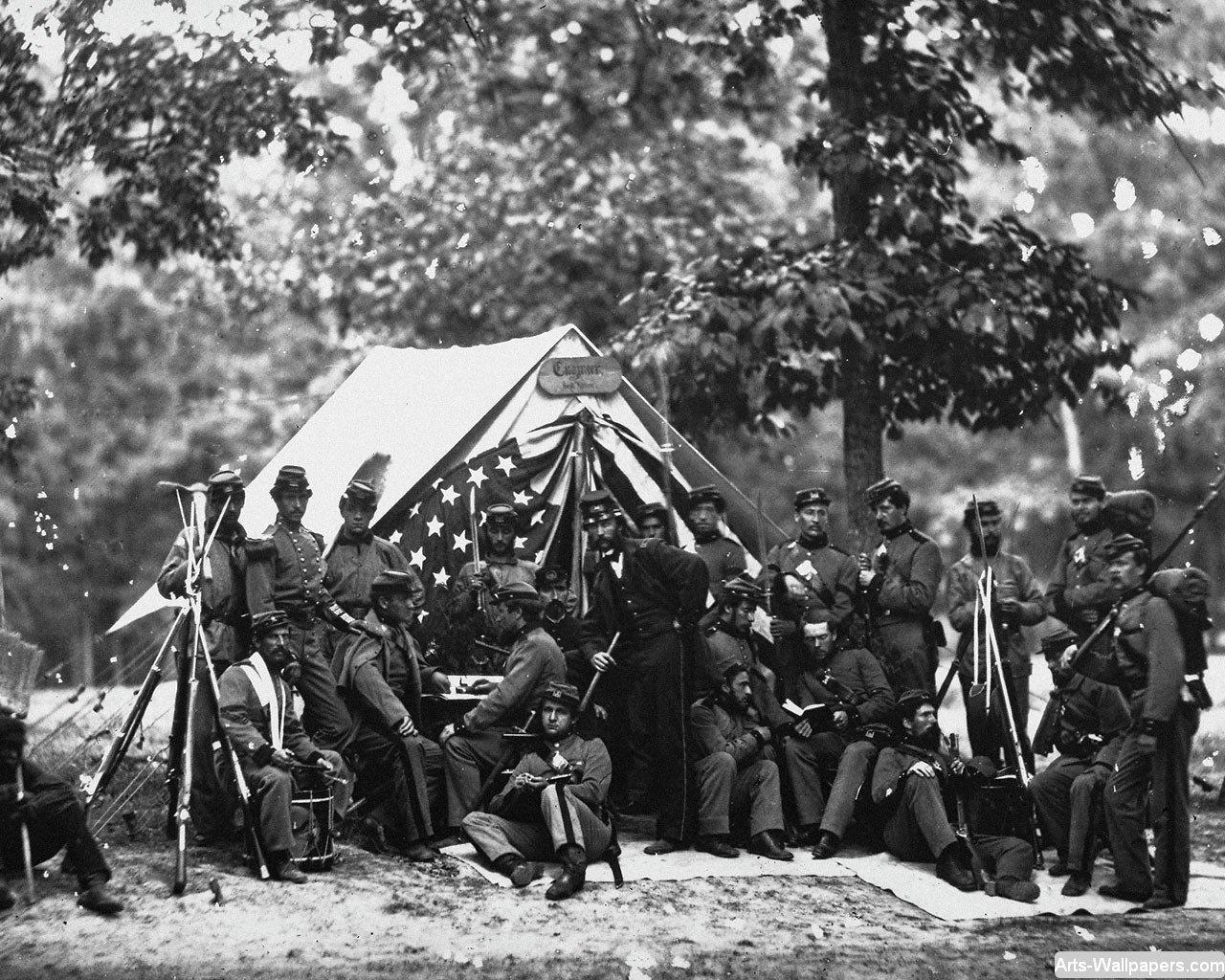 American Civil War Wallpapers 1280 x 1024