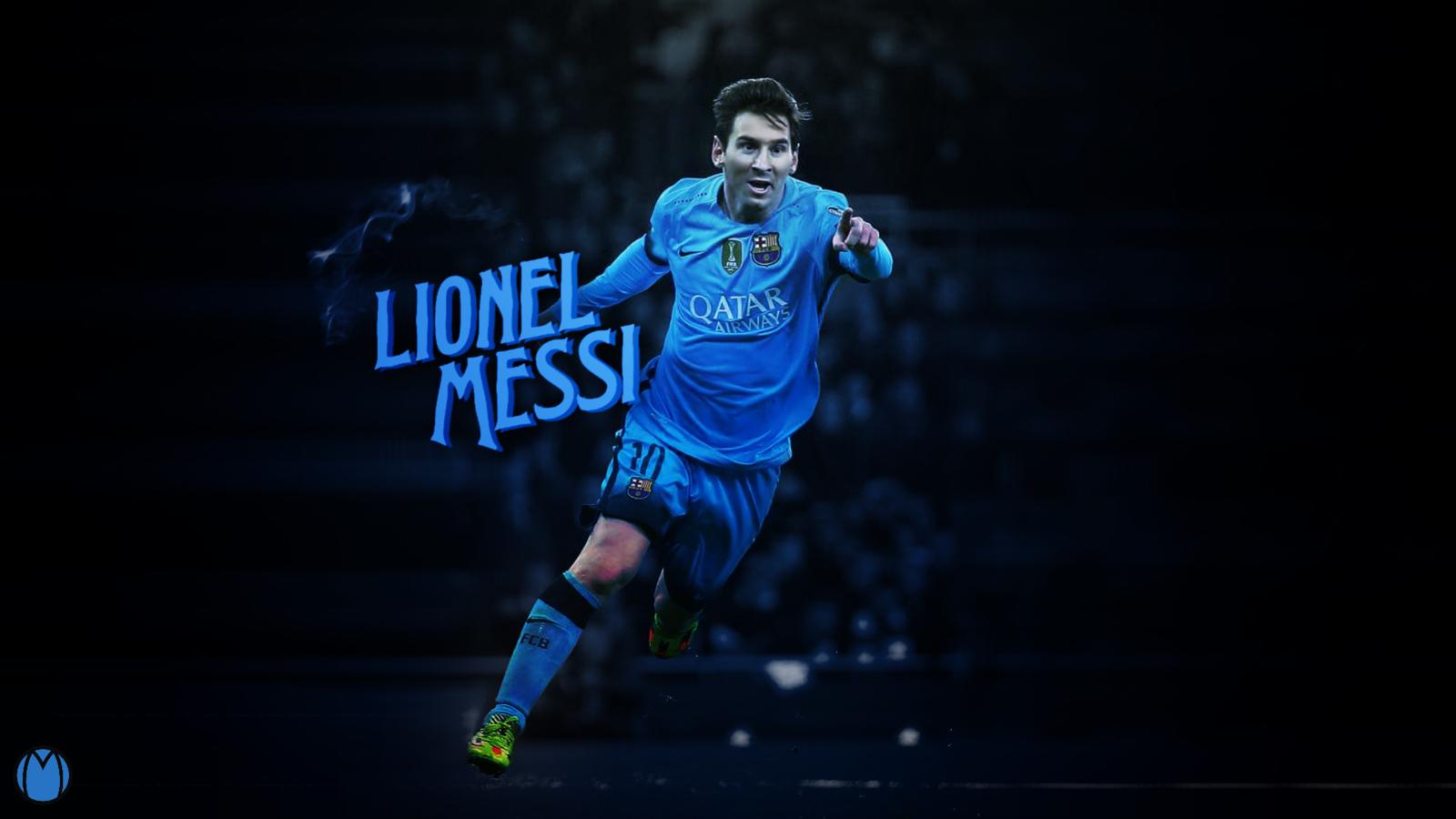 Lionel Messi 2016 Wallpaper   Design by MhmdAo 1600x900