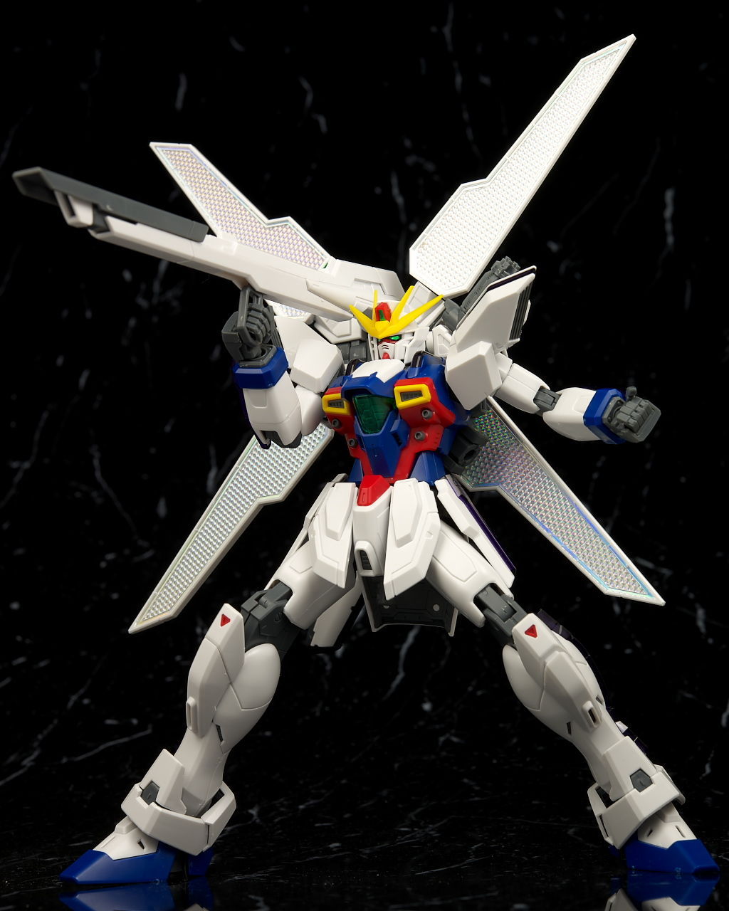 MG 1100 GX 9900 Gundam X Full Kit Photoreview No40 Wallpaper Size 1024x1280
