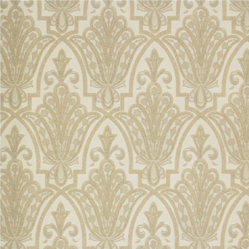Graham Amp Brown Boutique Wallpaper Jungle Glam White Gold Summer