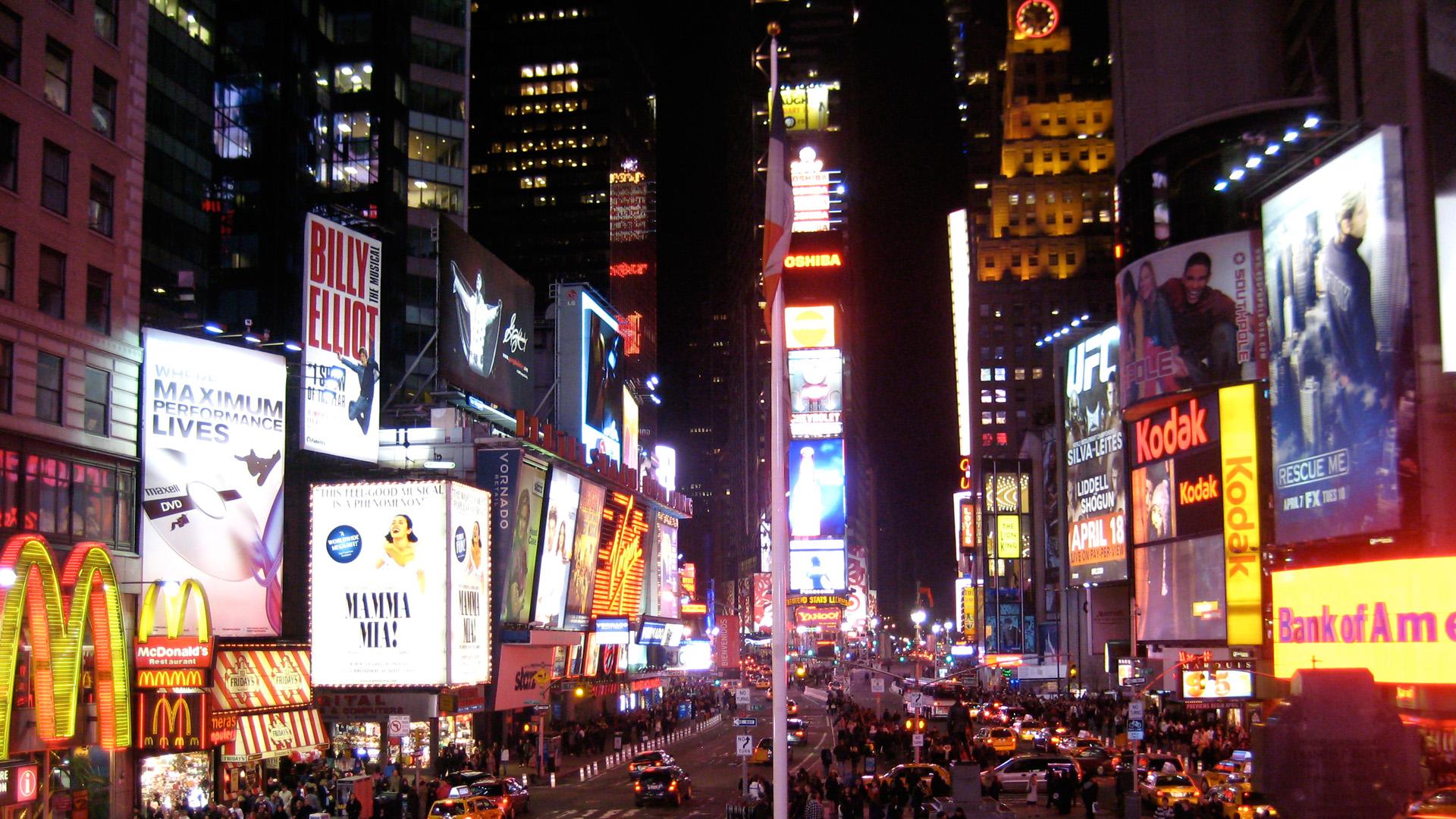Free Download Times Square Hd Desktop Wallpaper Times Square
