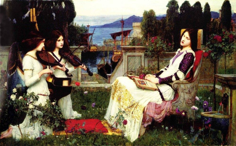 Free Download Pre Raphaelite Wallpapers 1000x619 For Your