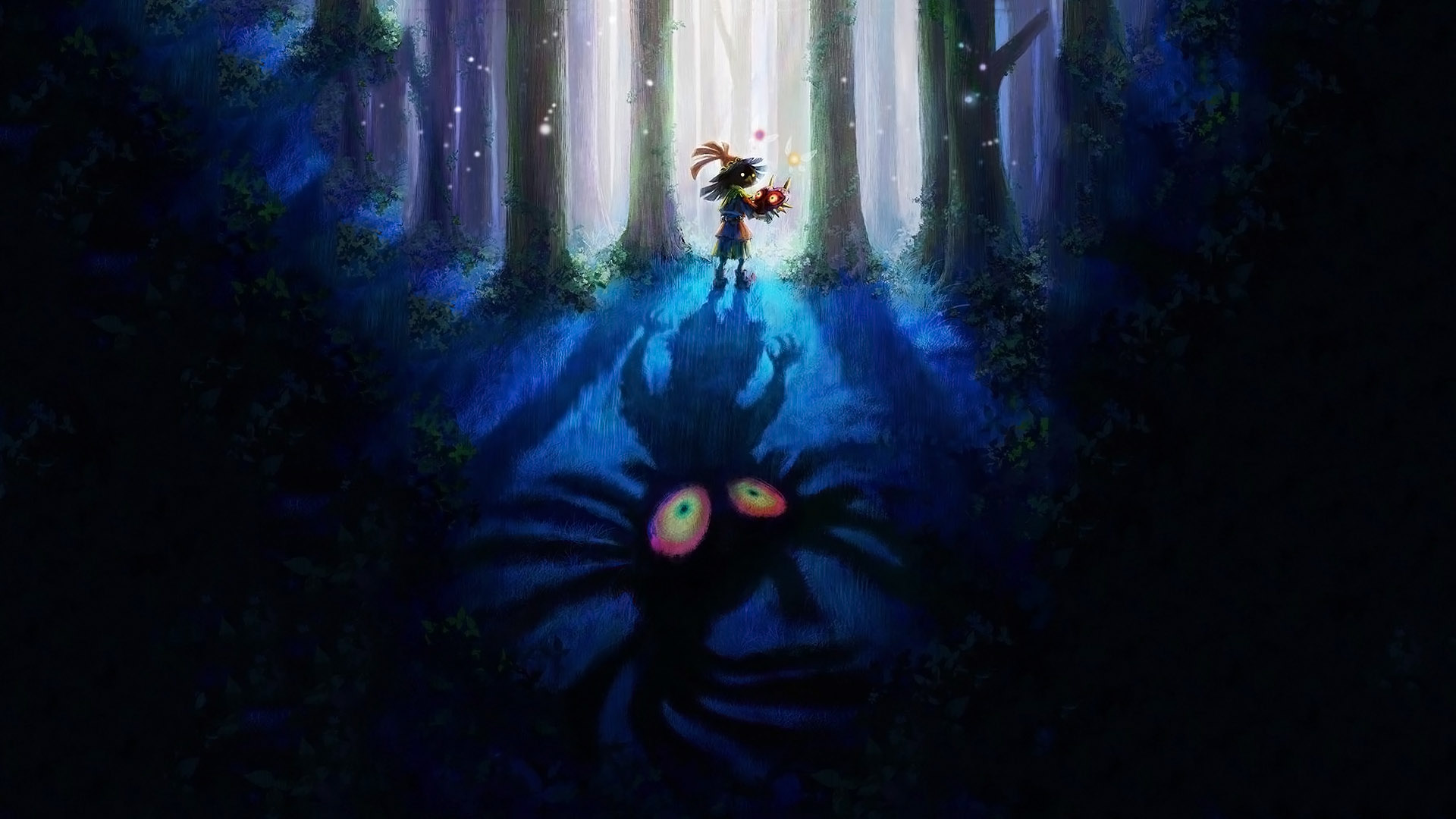 Majora S Mask Wallpaper Wallpapersafari