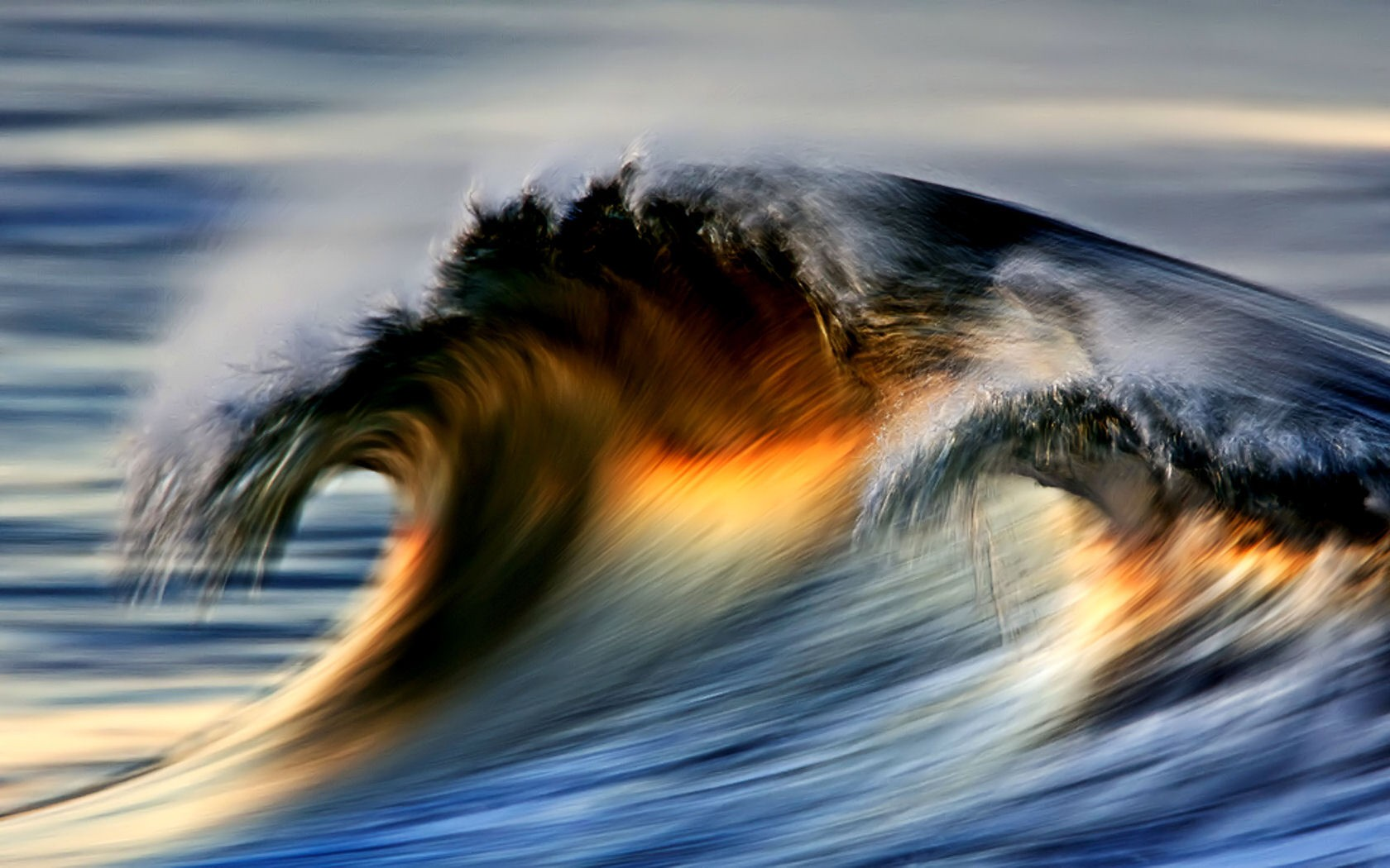 Ocean Waves Wallpapers Nature Wallpapers Gallery   PC 1680x1050