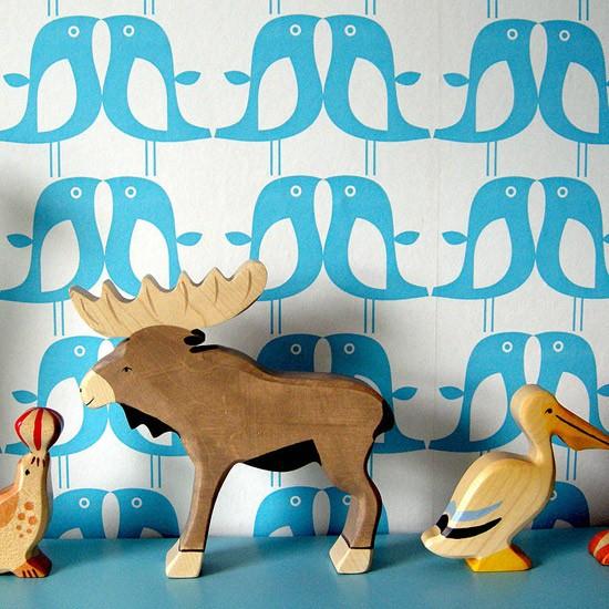 Wallpaper by Caroline McGrath Childrens wallpaper Wallpaper 550x550