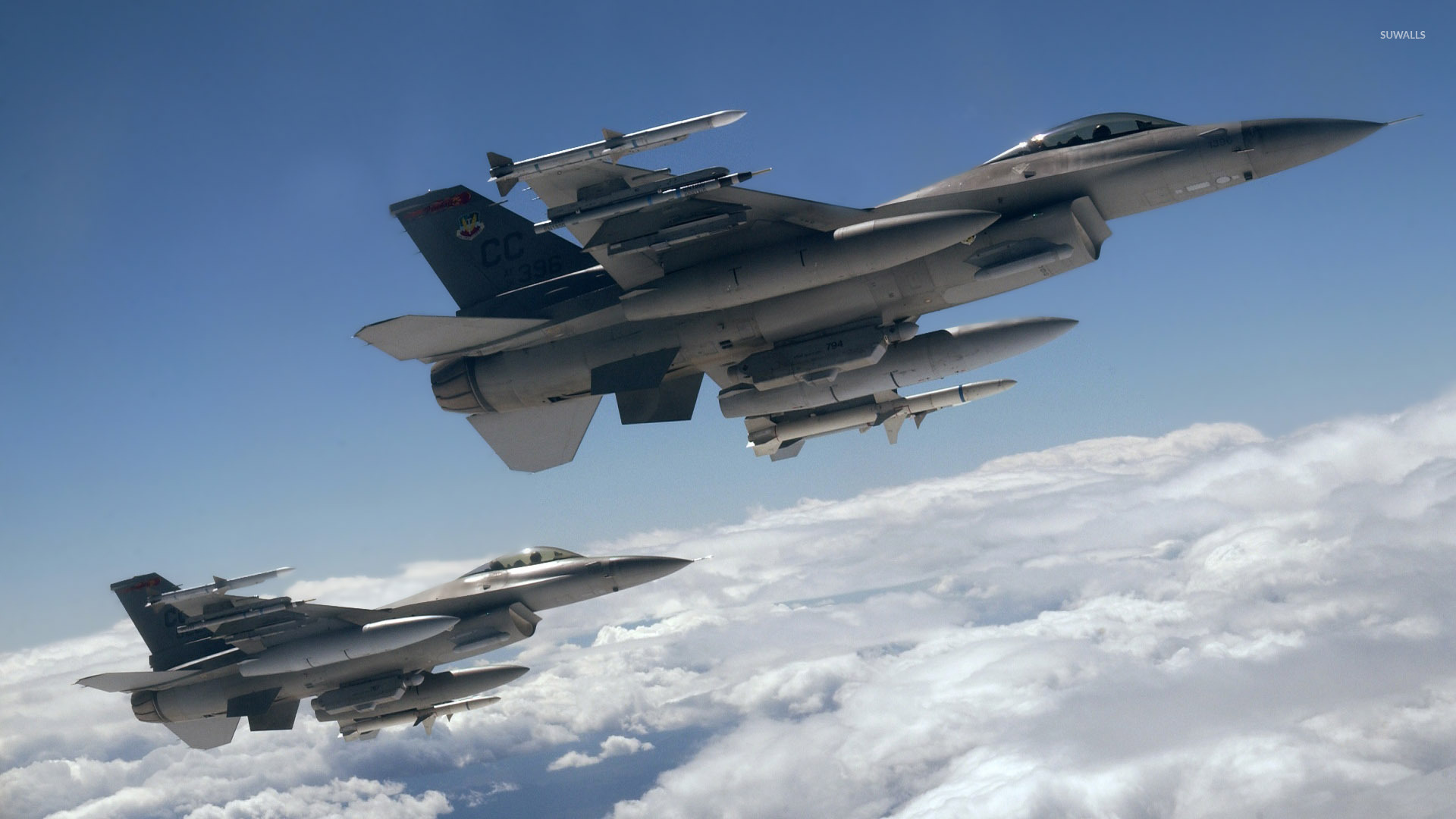 Falcon High Resolution Wallpapers: F 16 Fighting Falcon Wallpaper