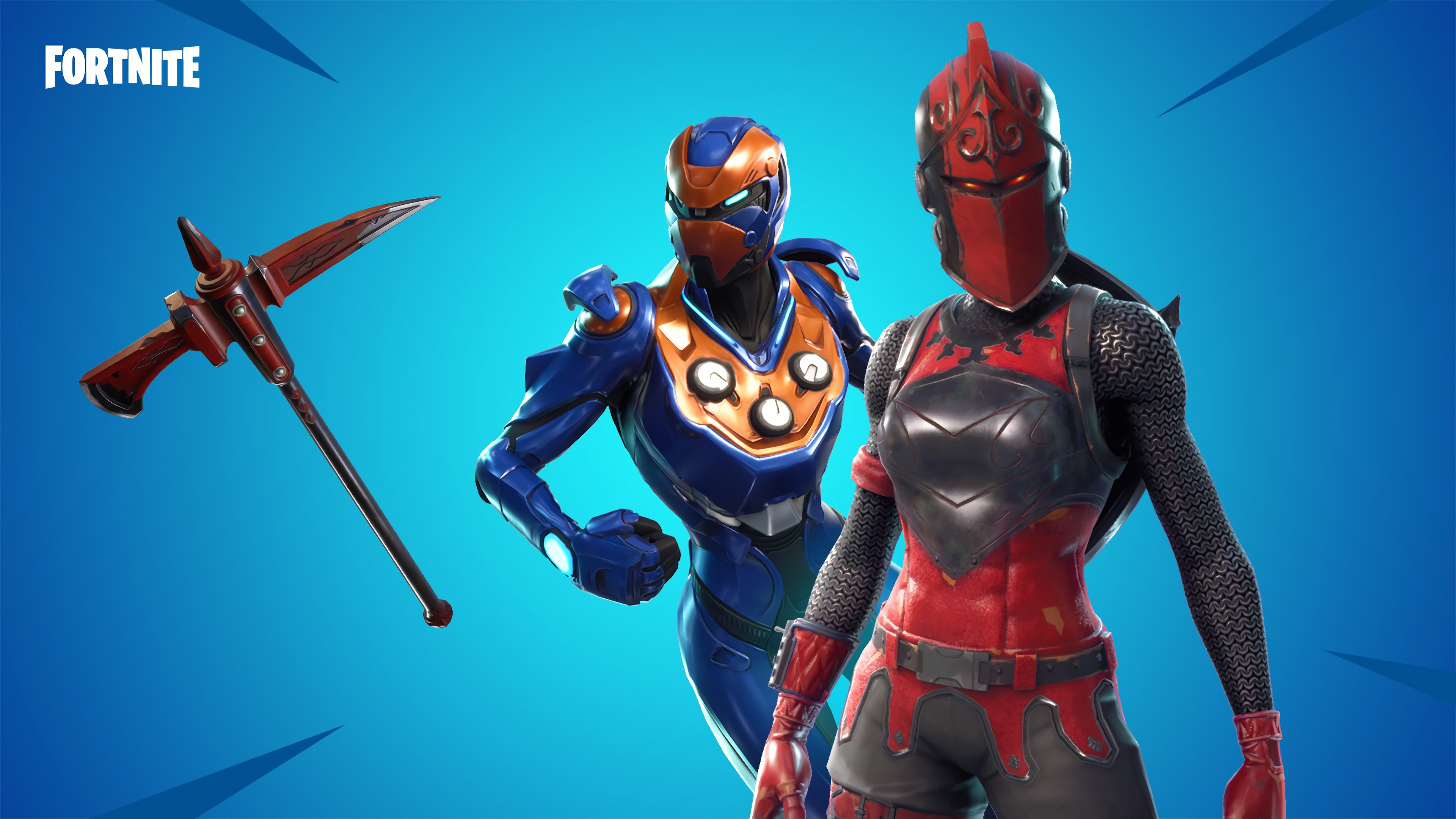 Red Knight and Criterion Fortnite Battle Royale 4K 17576 3840x2160
