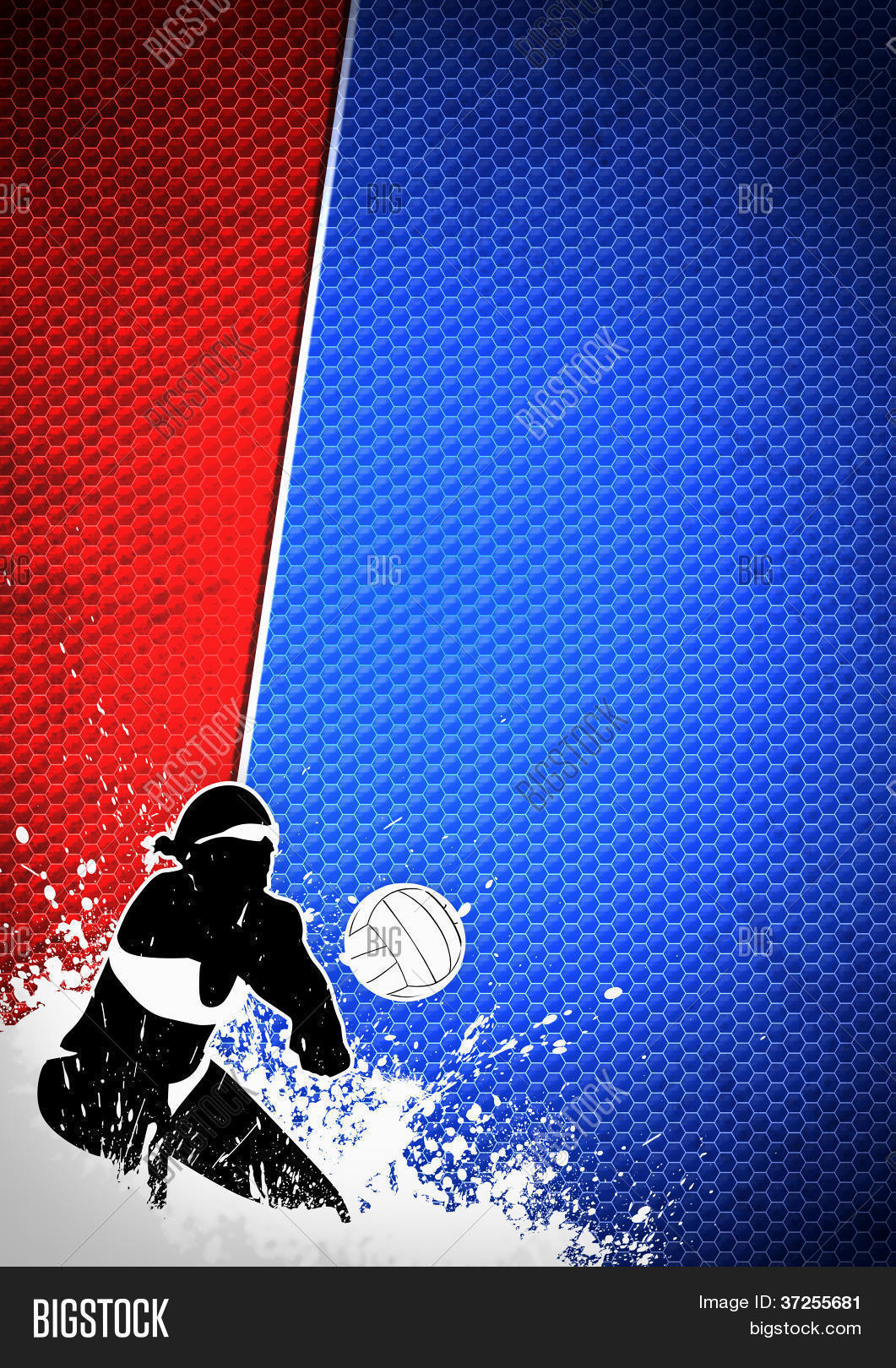 Volleyball Background Image Photo Trial Bigstock 1061x1620