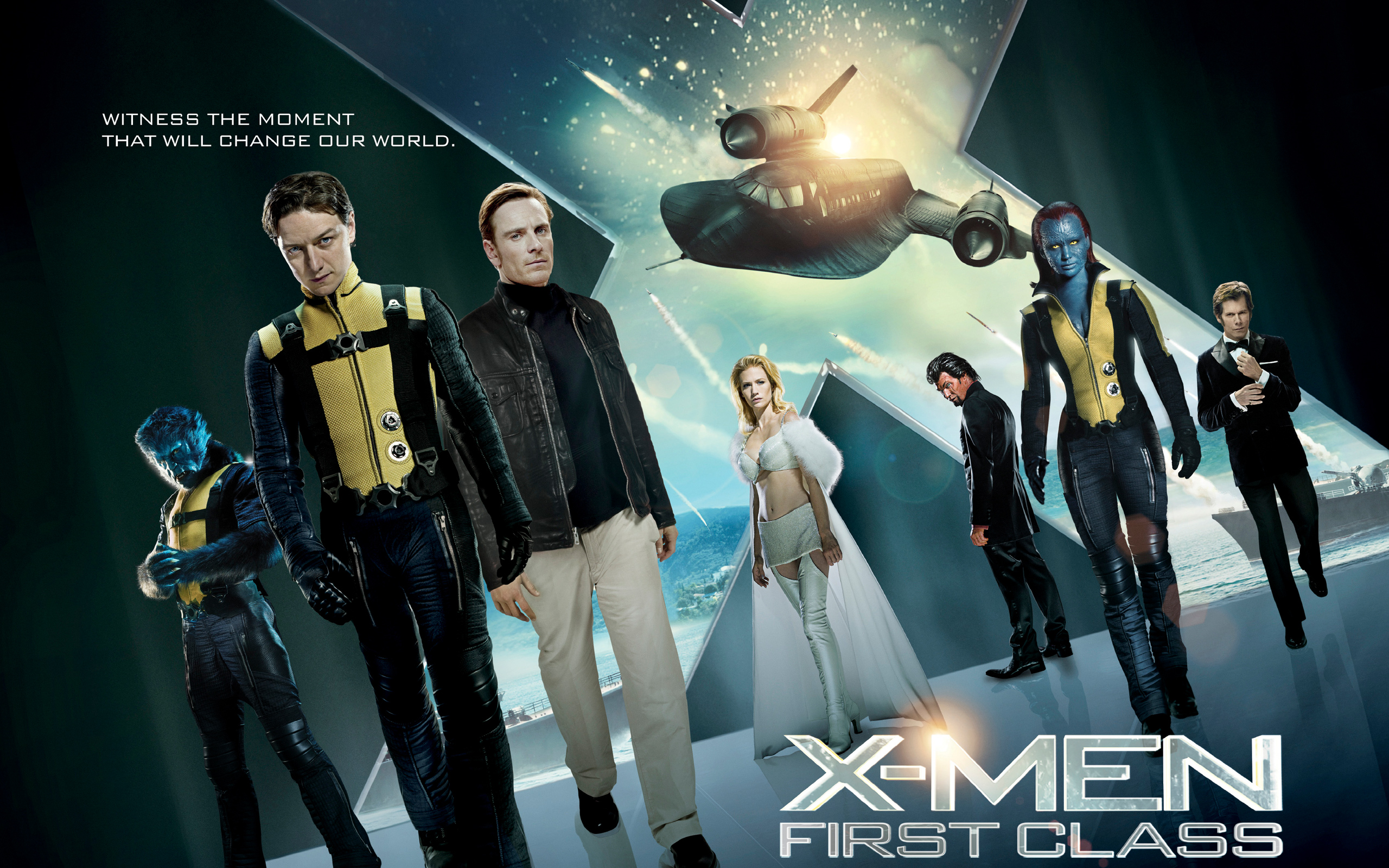 Men First Class 2011 Movie Wallpapers HD Wallpapers 2560x1600