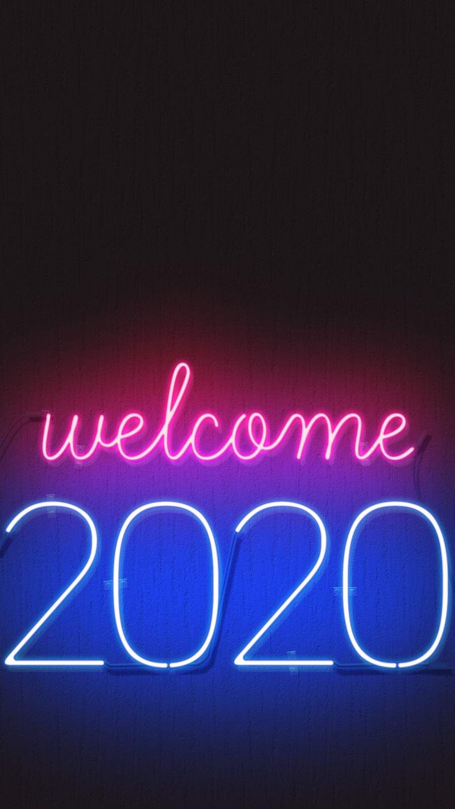 Download Welcome 2020 Happy New year Mobile Wallpaper for your 900x1600