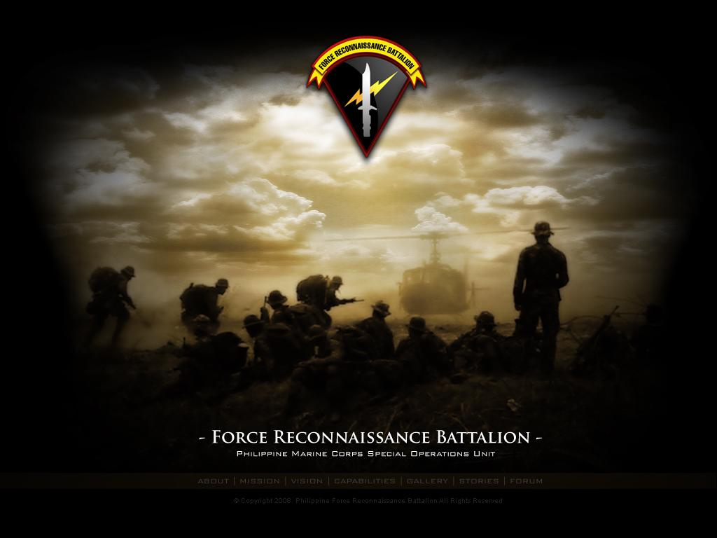Wallpaper Force Recon WallpaperSafari - USMC