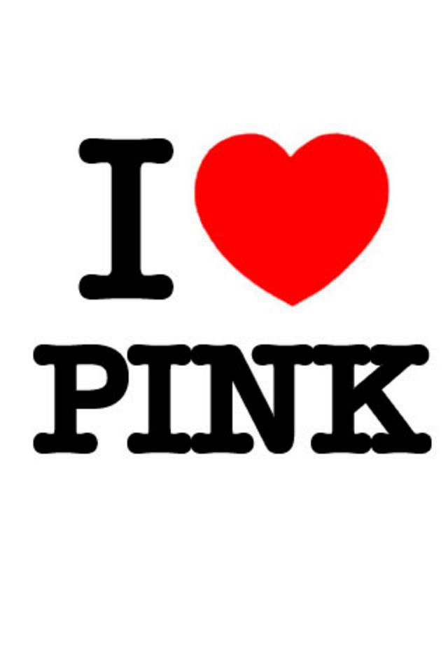 Love Pink iPhone Wallpaper HD 640x960