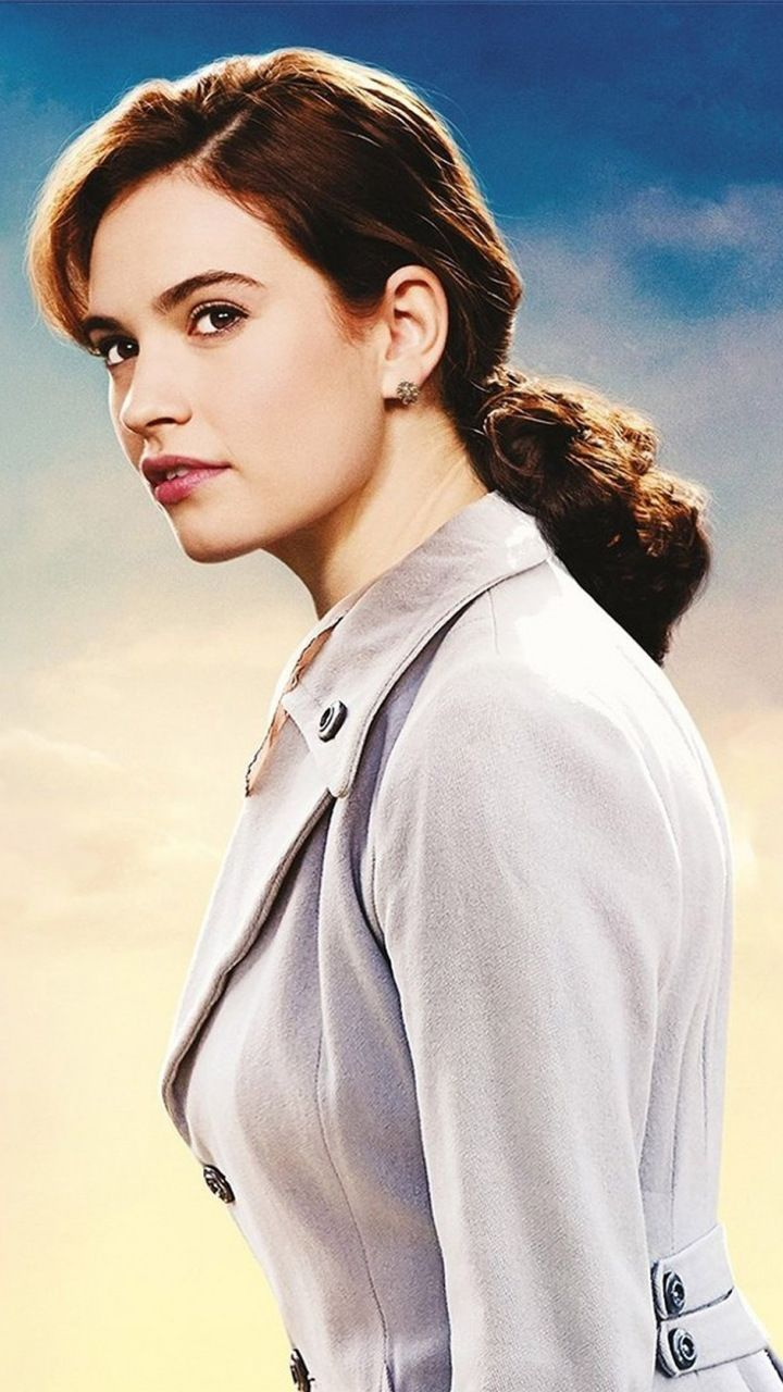 The Guernsey Literary and Potato Peel Pie Society Lily James 720x1280