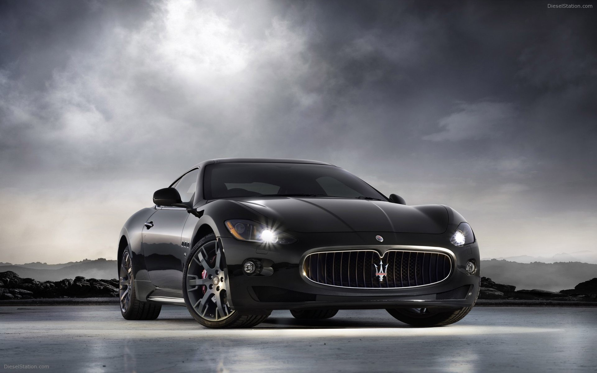 Home Maserati 2009 Maserati Gran Turismo S Pictures Video 1920x1200