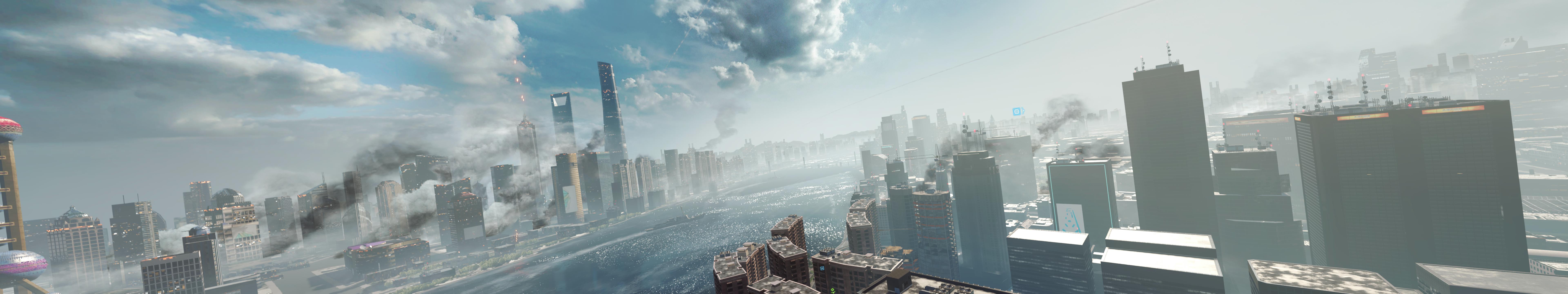 Battlefield 4 screenshots maxed settings at 7680x1440 on LPC   PC 7680x1440