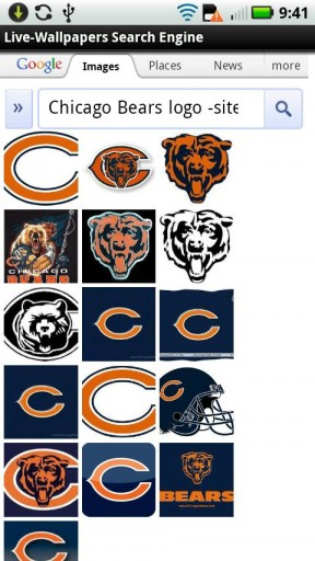 View bigger   Chicago Bears 3D Wallpaper for Android screenshot 288x512