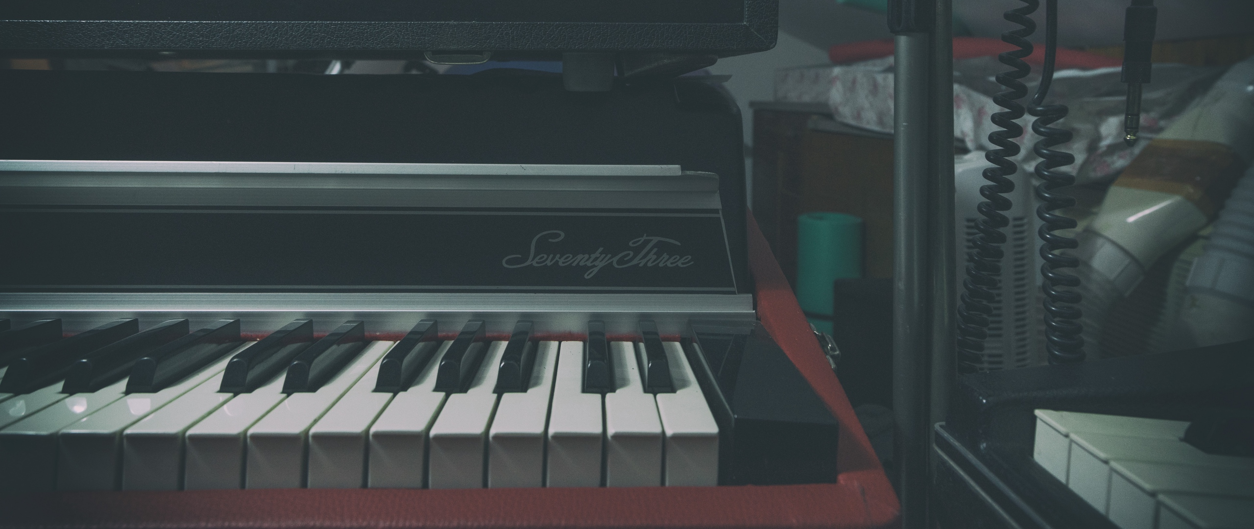 Wallpaper Synthesizer Piano Musical Instrument   Musical 2560x1080