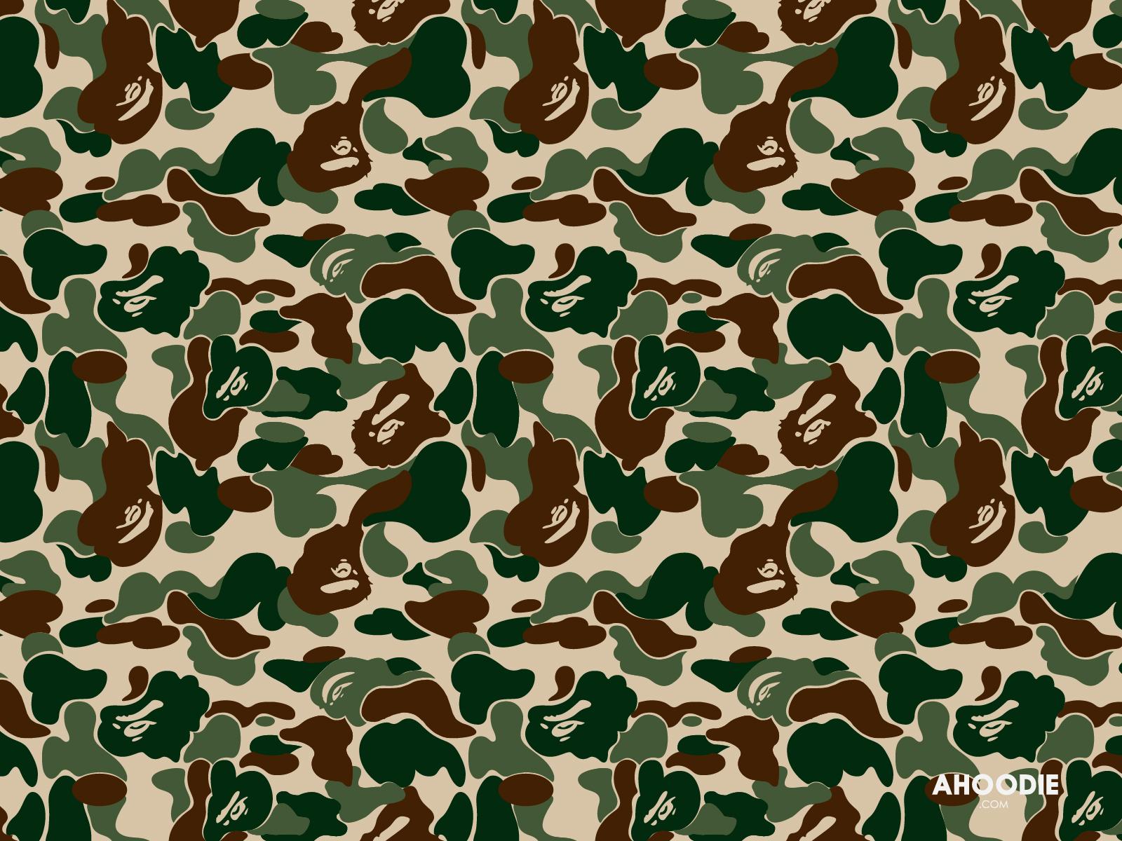 bape camo wallpaper desktop green   Brotherhood Mag 1600x1200