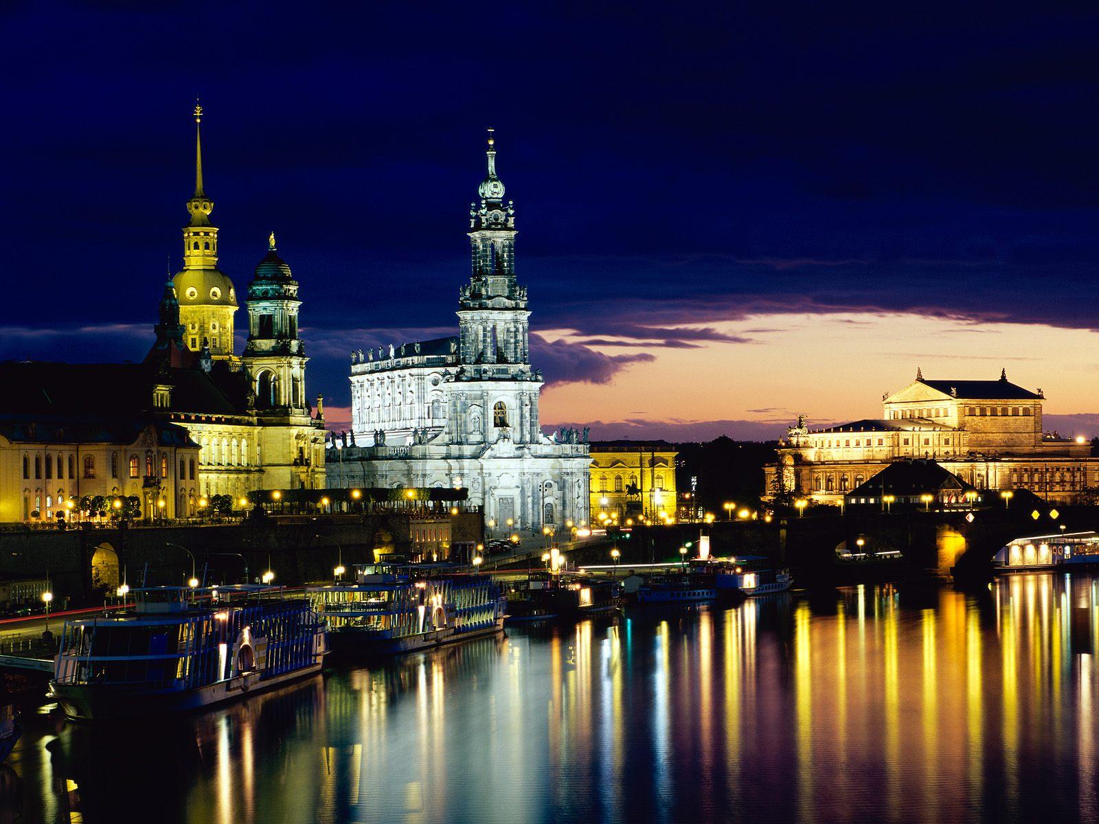 Desktop Wallpaper Gallery Travels Elbe   Dresden Germany 1600x1200