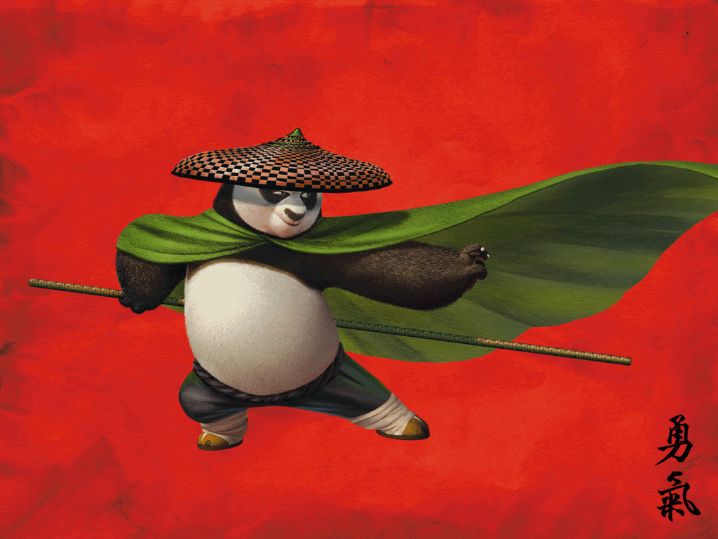 Free Download Wallpapersku Kung Fu Panda 2 Wallpapers 1024x768