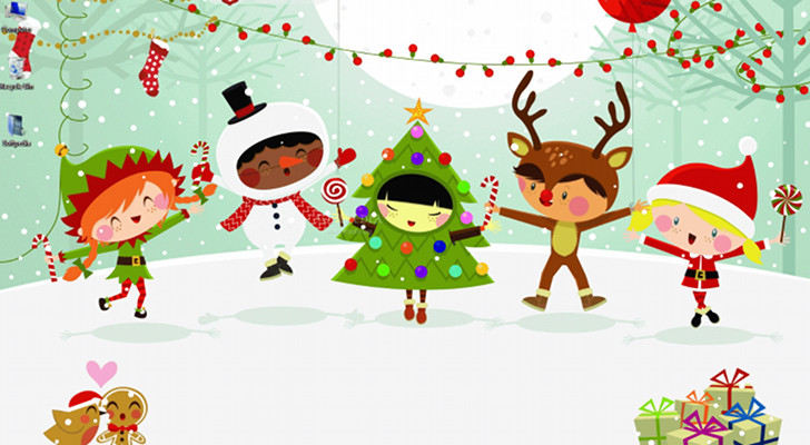 Get Ready for Christmas with MSN Wallpaper and Screensaver Pack 728x400