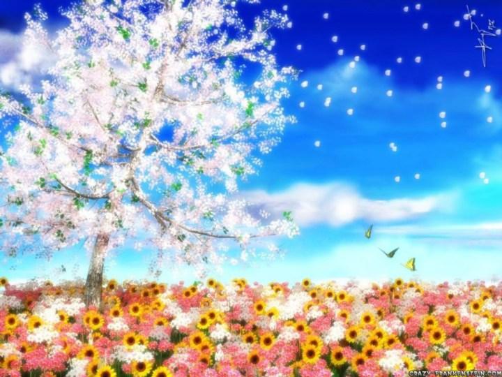 Fractal Art Springtime Wallpaper And Screensavers View 720x540