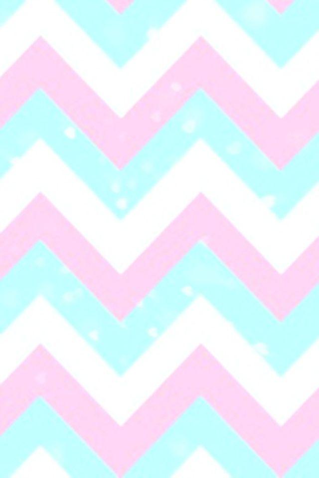 wallpaper Pinterest Chevron Wallpaper Pink Blue and Blue And 640x960