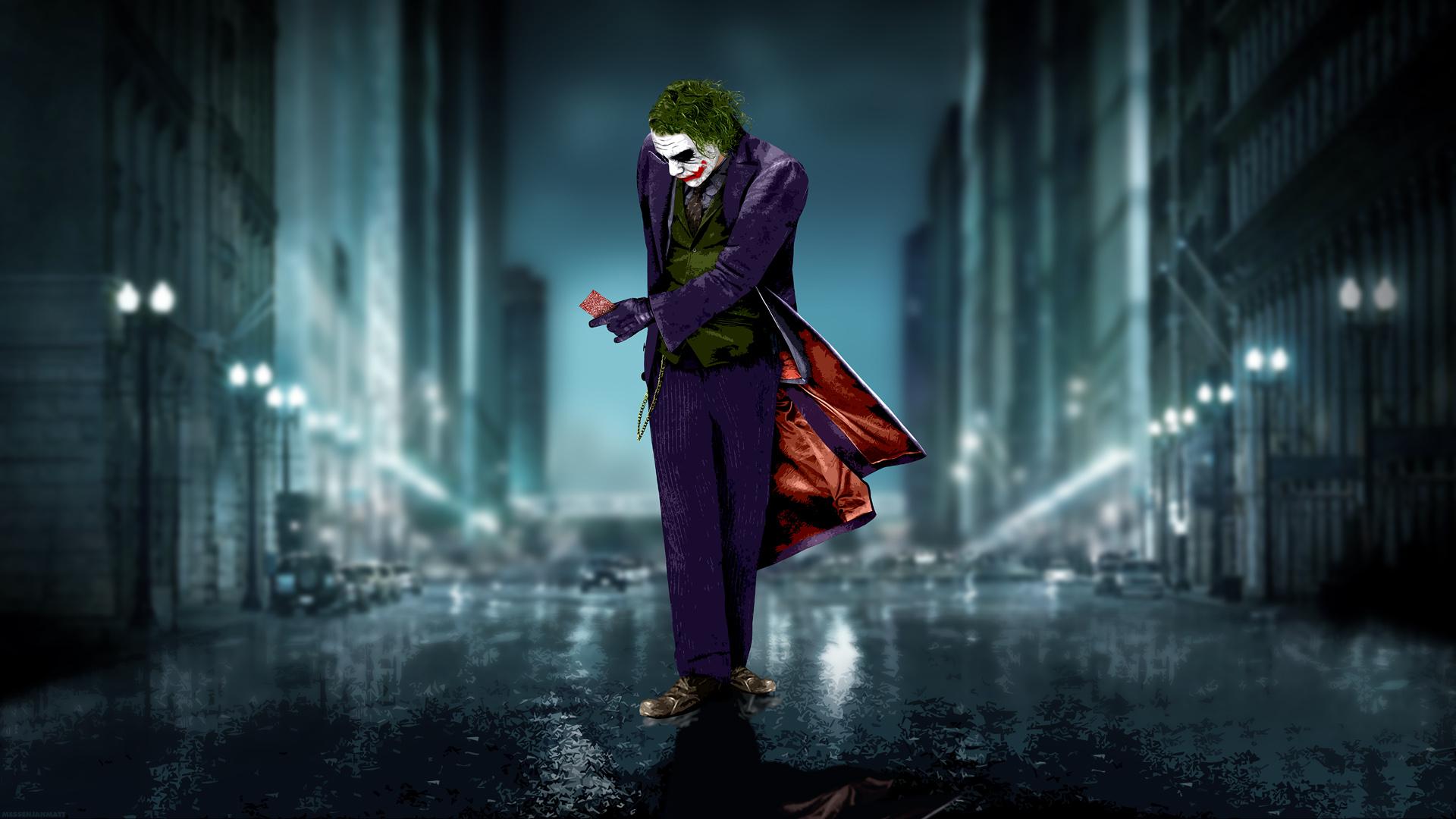 Hemos elegido este buen fondo de Joker para que cambies tu viejo fondo 1920x1080