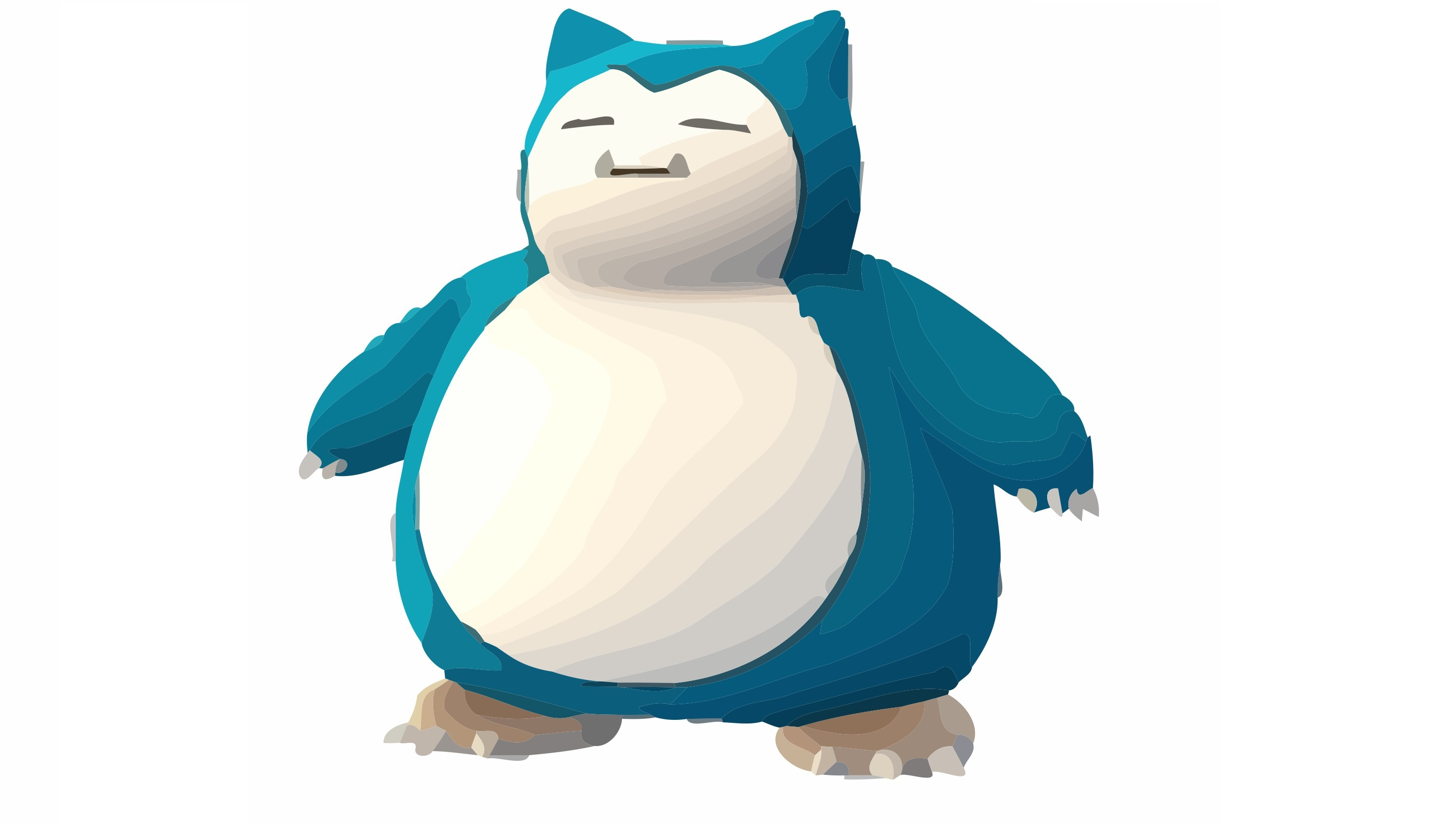 Snorlax Wallpapers Hd 2868x1664