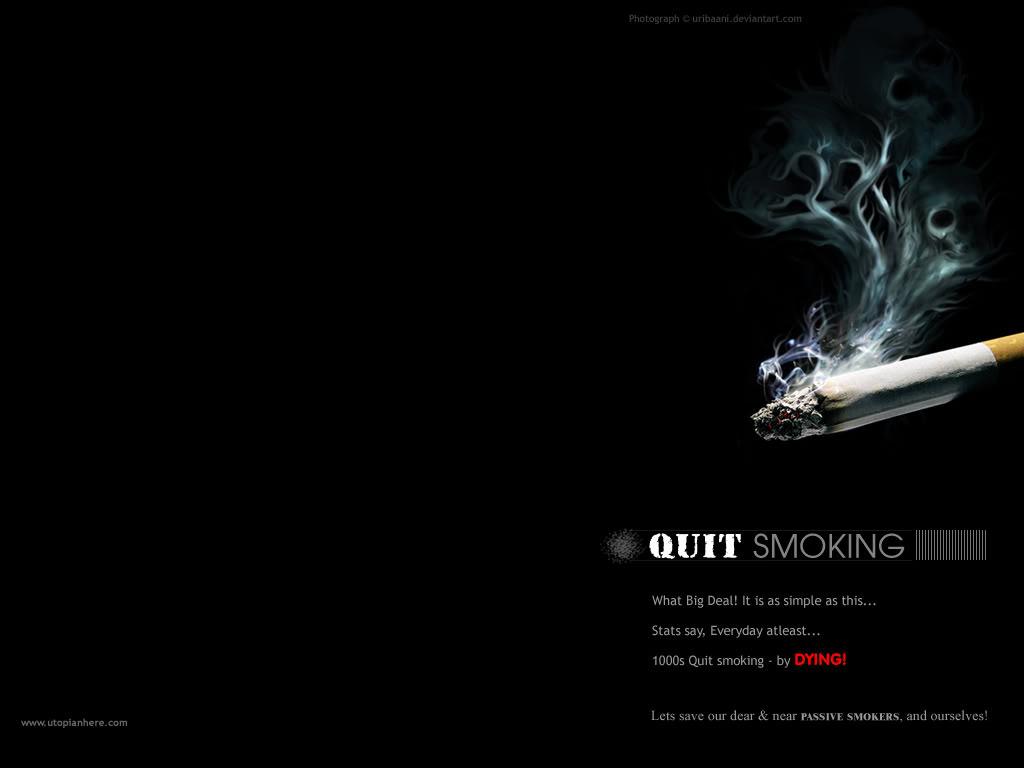 Quit Smoking Wallpaper - WallpaperSafari