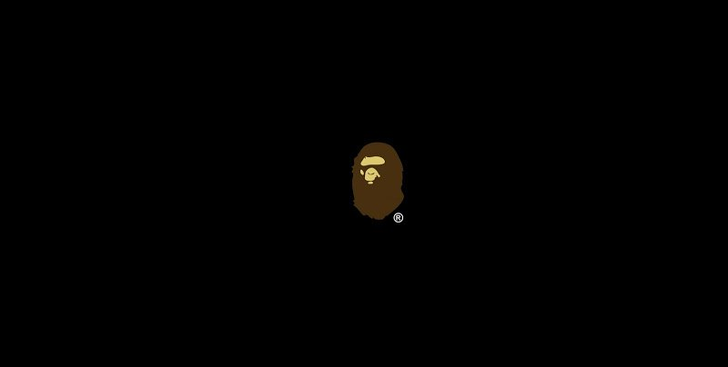 Bape huge logo big a bathing ape wallpaper wallpapers 1 800x404