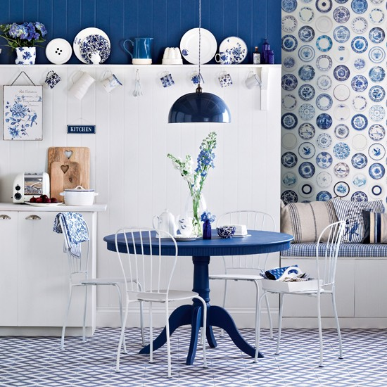 Download Blue And White Kitchen Wallpaper 550x550 45 Blue And