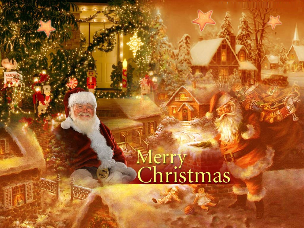 Christmas desktop wallpaper download   SF Wallpaper 1024x768