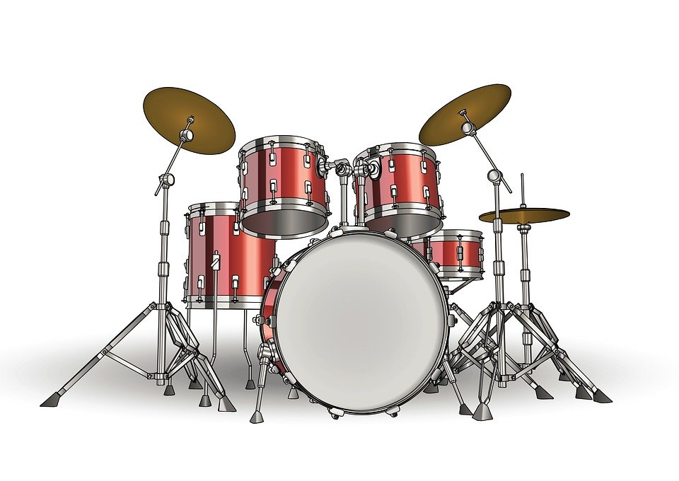 Drums Drum Set Background   photo on Pixabay 960x680