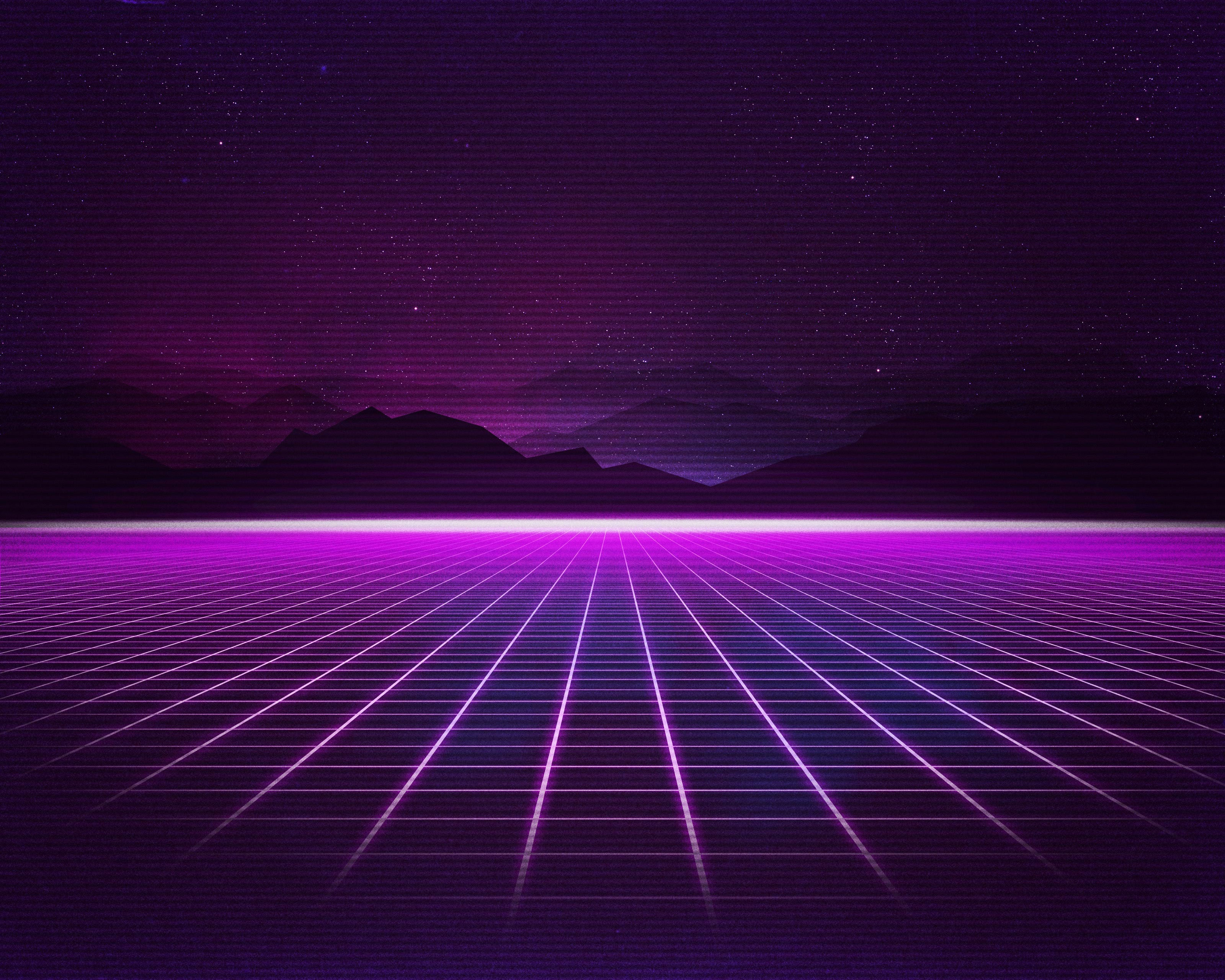 Rad Pack 80s Themed HD Wallpapers Nate Wren Graphic 3200x2560