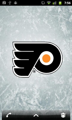 View bigger   NHL Philadelphia Flyers Theme for Android screenshot 307x512