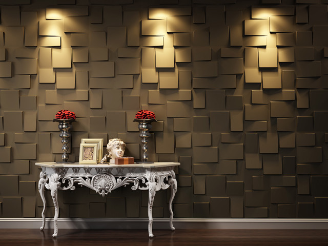 3D WALL PANELSBlocks   Contemporary   Wall Panels   vancouver   by 640x480