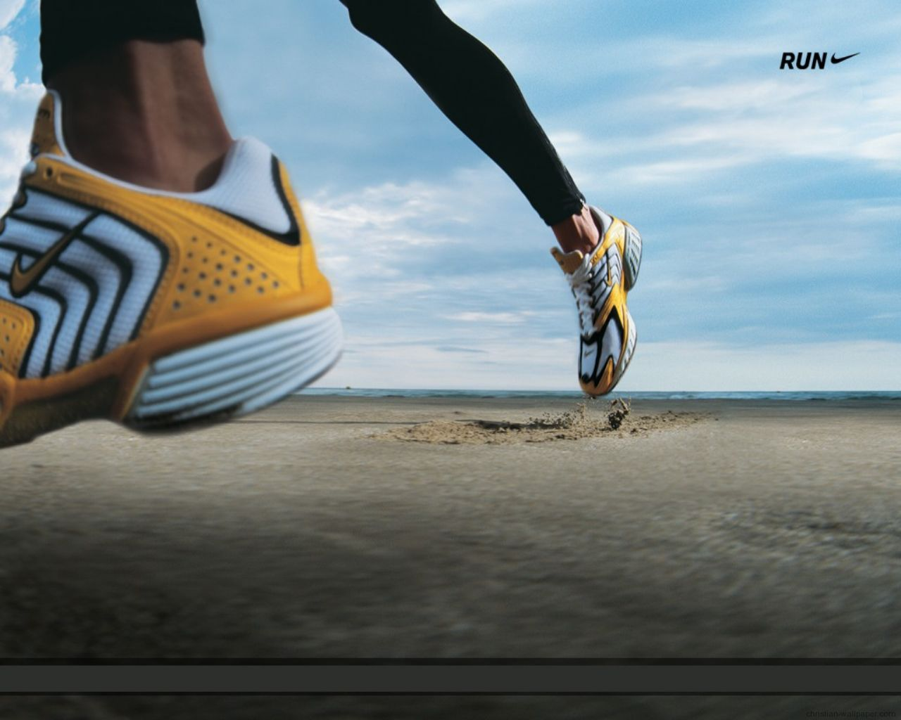 nike running theme of shoes 1280x1024