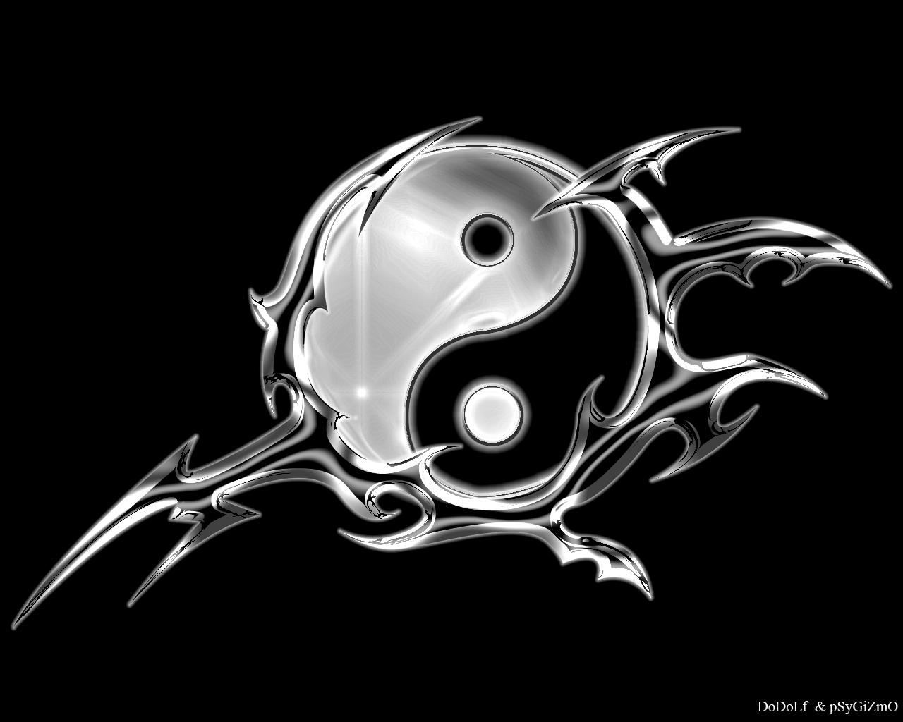 Ying Yang Wallpaper 1280x1024 Ying, Yang