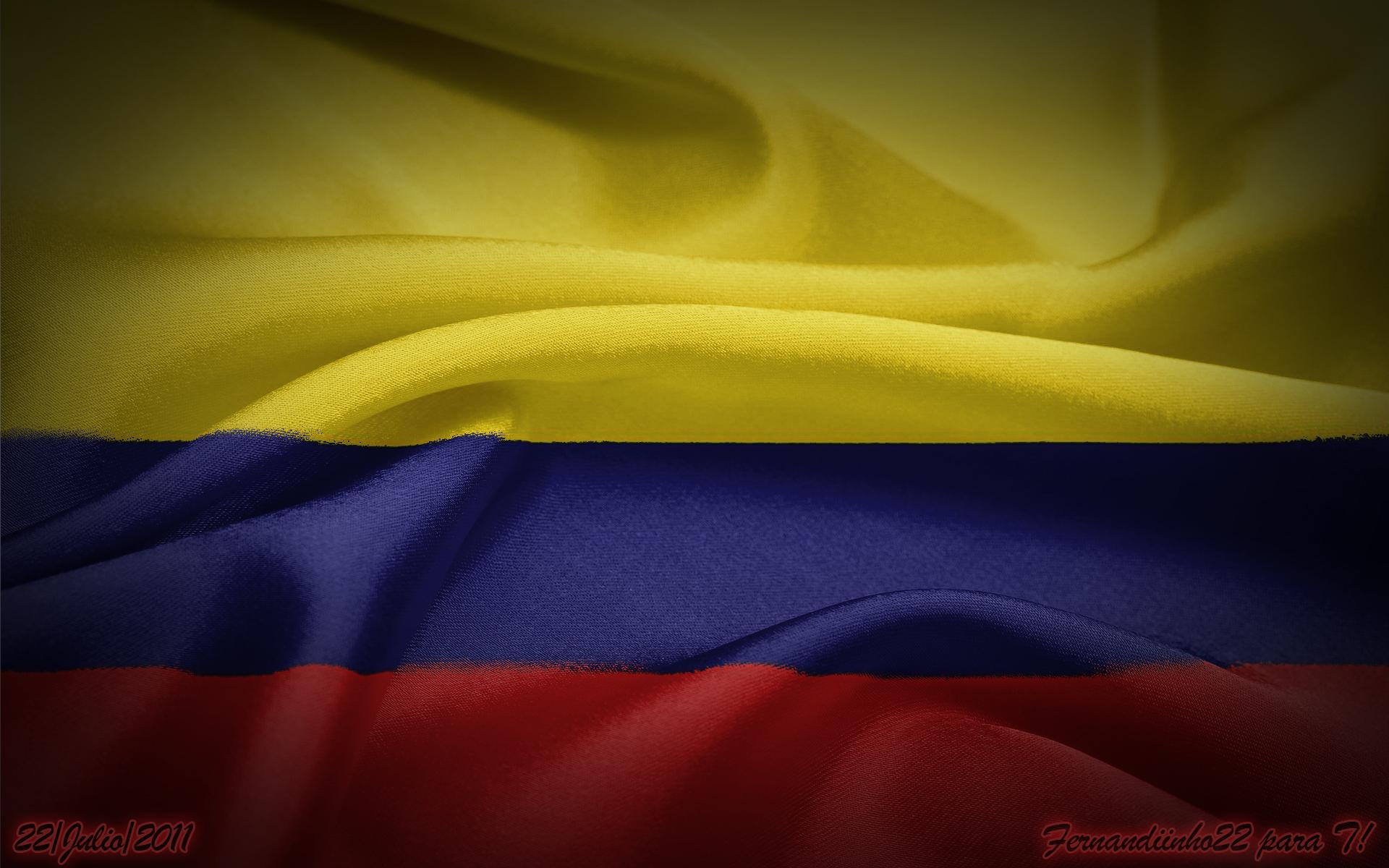 Bandera Colombia Wallpaper