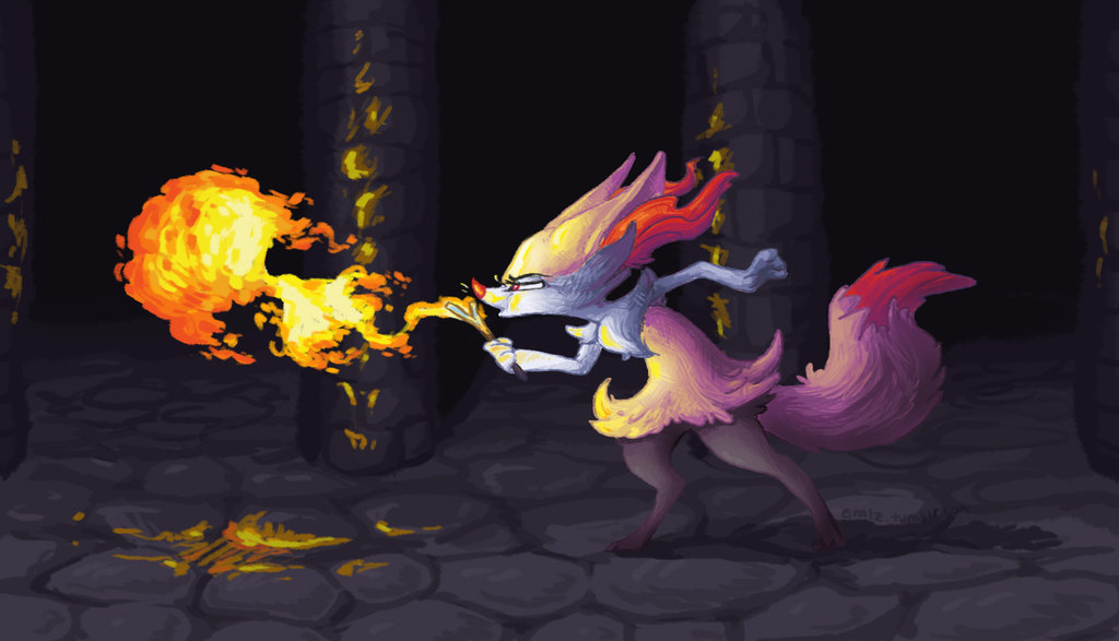 Braixen by emlz 1024x587