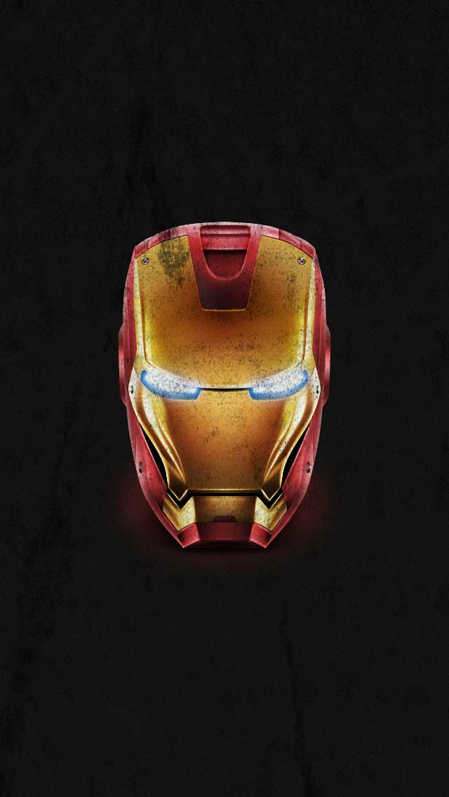 Iron Man Distressed iPhone Wallpaper by vmitchell85 640x1136