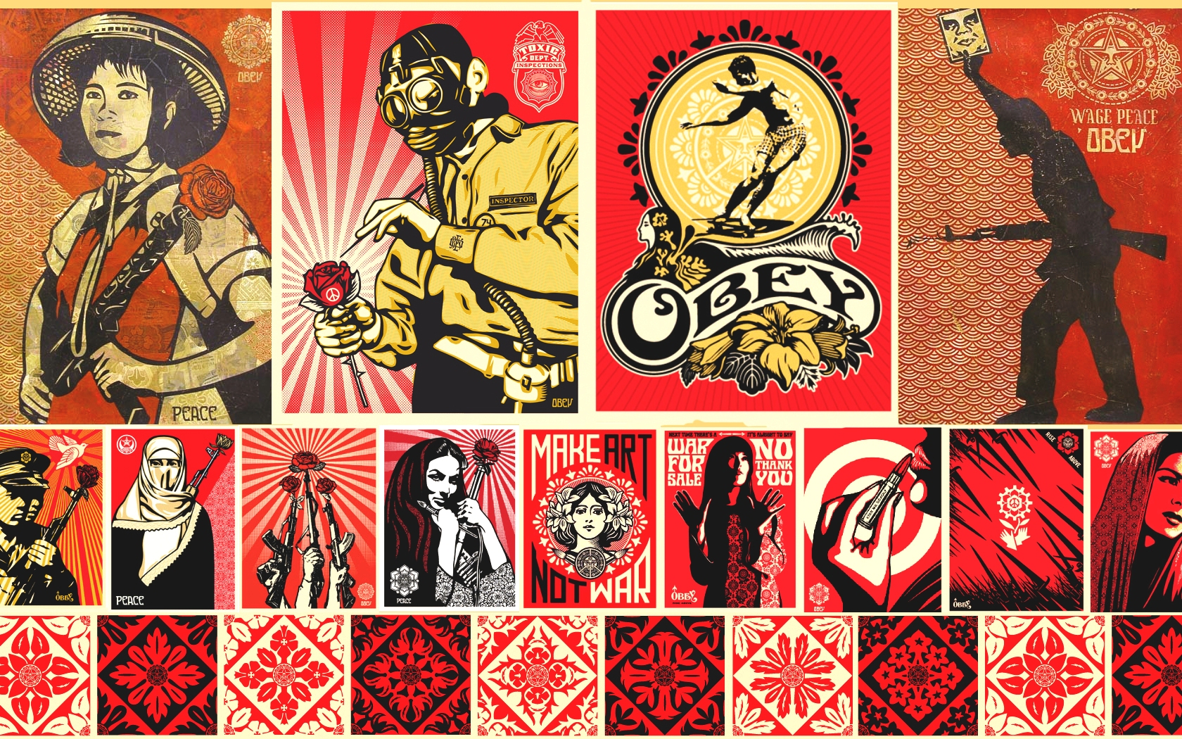 Obey Wallpaper 1680x1050 Obey 1680x1050